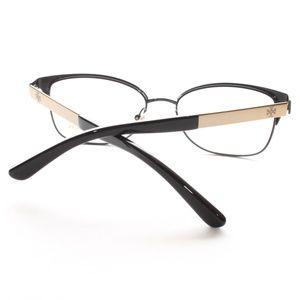 58cdfceba2b2 Tory Burch Accessories - TORY BURCH Eyeglasses TY 1046 3100 Black/Gold 50MM